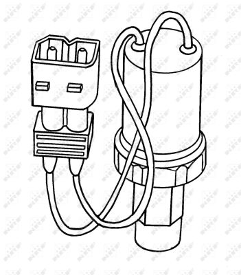 Pressostat de climatisation NRF 38902 (X1)