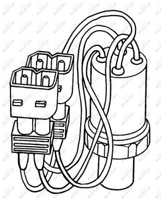 Pressostat de climatisation NRF 38903 (X1)