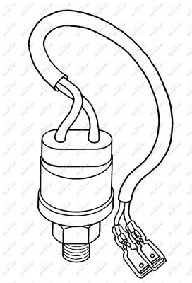 Pressostat de climatisation NRF 38907 (X1)