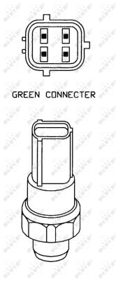 Pressostat de climatisation NRF 38932 (X1)