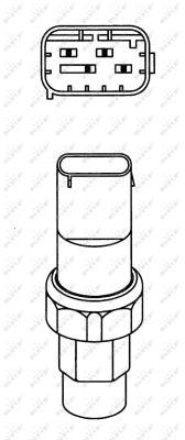 Pressostat de climatisation NRF 38933 (X1)
