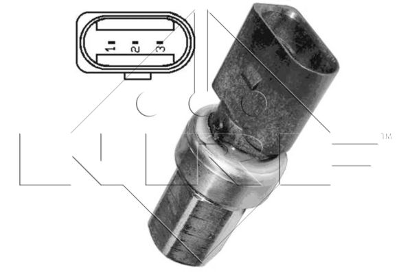 Pressostat de climatisation NRF 38935 (X1)