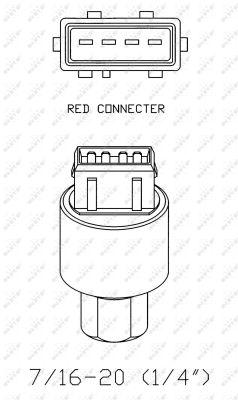 Pressostat de climatisation NRF 38936 (X1)