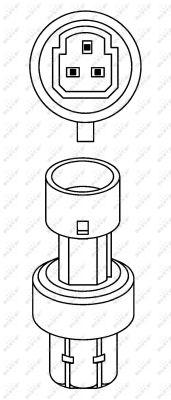 Pressostat de climatisation NRF 38943 (X1)