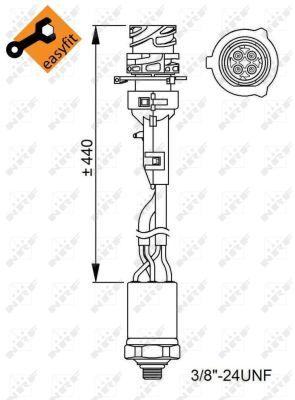 Pressostat de climatisation NRF 38950 (X1)
