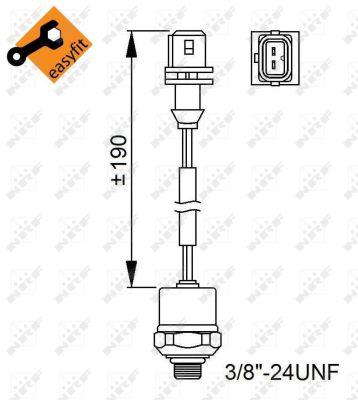 Pressostat de climatisation NRF 38951 (X1)