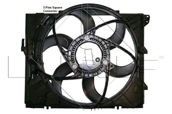 Ventilateur de radiateur NRF 47209 (X1)