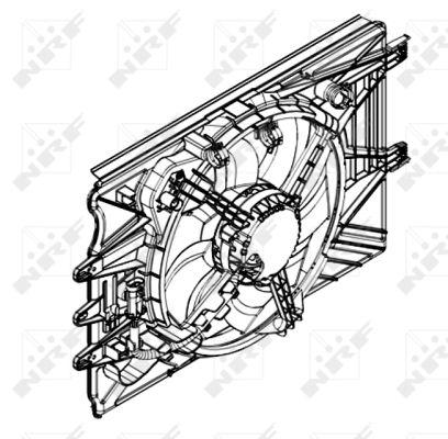 Ventilateur de radiateur NRF 47594 (X1)