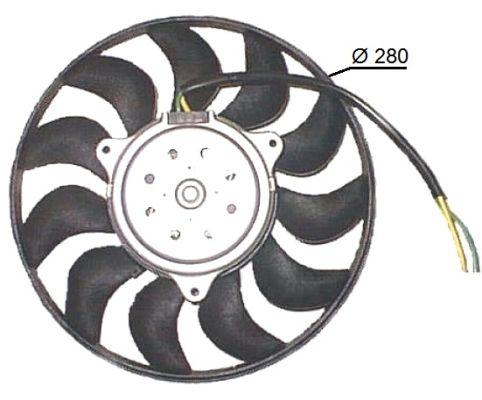 Ventilateur de radiateur NRF 47616 (X1)