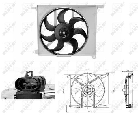 Ventilateur de radiateur NRF 47686 (X1)