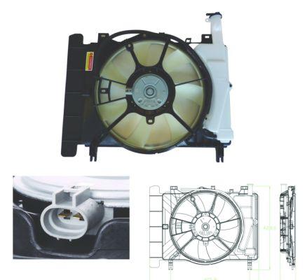 Ventilateur de radiateur NRF 47698 (X1)