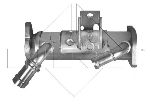 Refroidisseur d'echappement NRF 48012 (X1)