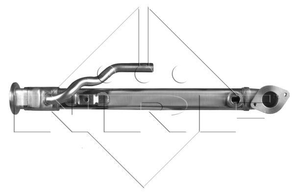 Refroidisseur d'echappement NRF 48016 (X1)