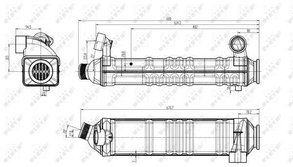 Vanne EGR NRF 48303 (X1)