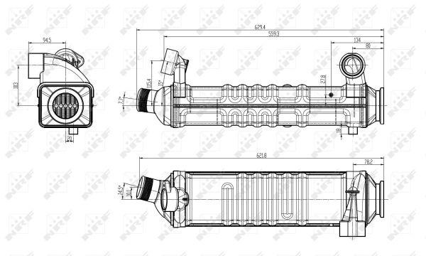 Vanne EGR NRF 48304 (X1)