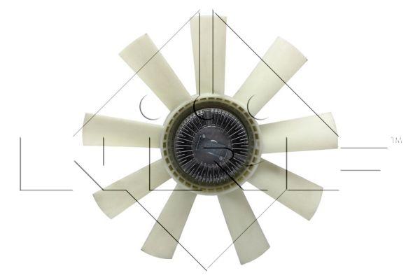Embrayage de ventilateur refroidissement NRF 49117 (X1)