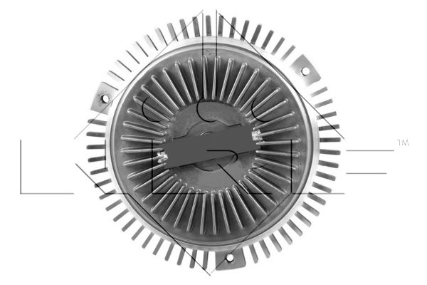 Embrayage de ventilateur refroidissement NRF 49557 (X1)