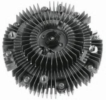 Embrayage de ventilateur refroidissement NRF 49572 (X1)