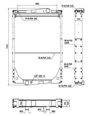 Radiateur de refroidissement NRF 503012 (X1)