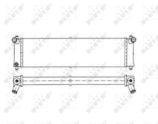 Radiateur de refroidissement NRF 50547 (X1)