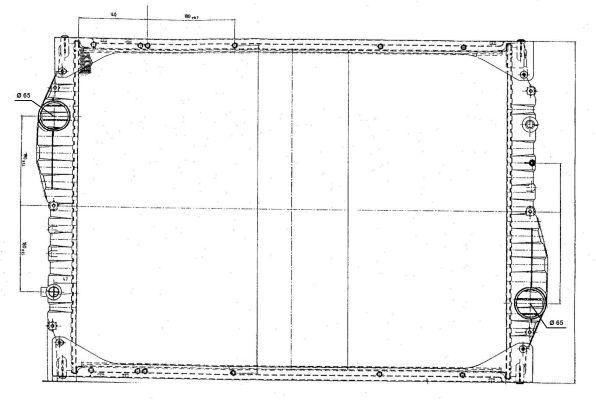 Radiateur de refroidissement NRF 51545 (X1)