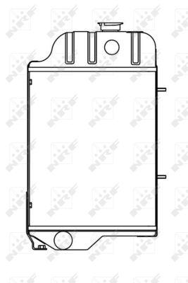 Radiateur de refroidissement NRF 52248 (X1)