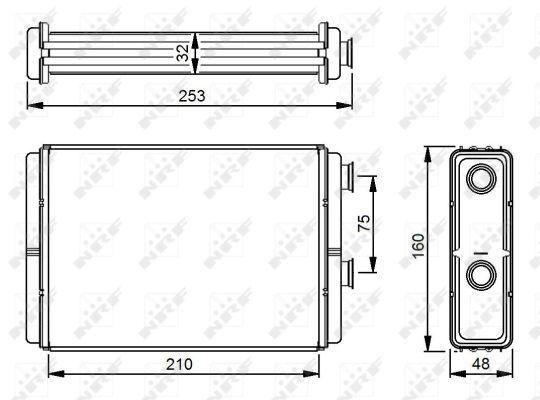 Chauffage NRF 53233 (X1)