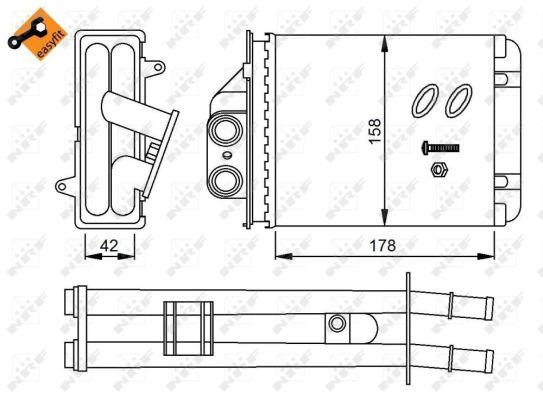 Chauffage NRF 53641 (X1)
