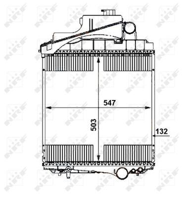 Radiateur de refroidissement NRF 54109 (X1)