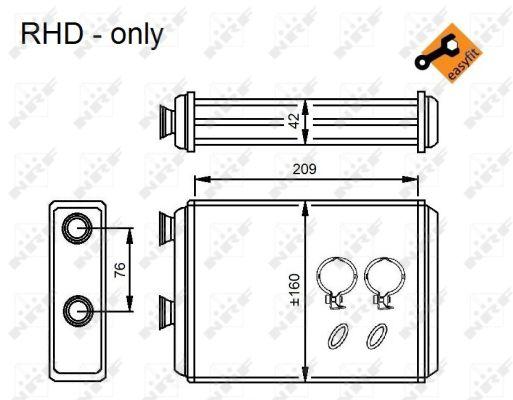 Chauffage NRF 54224 (X1)