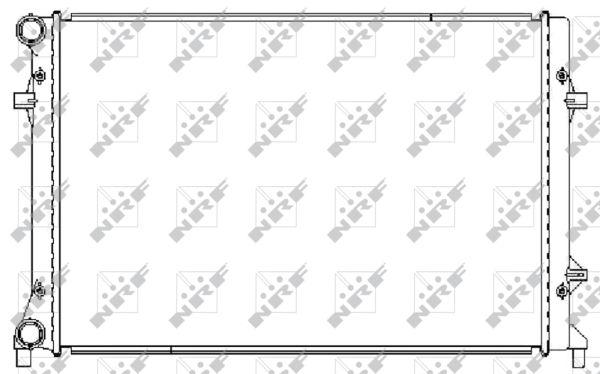 Radiateur de refroidissement NRF 59211 (X1)