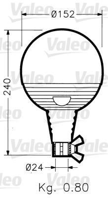 Gyrophare VALEO 040019 (X1)