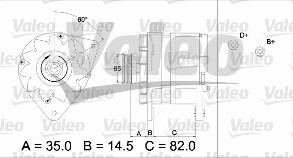 Alternateur VALEO 436689 (X1)