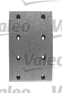 Kit de garnitures de frein (machoires)pour frein à tambour VALEO 219010 (X1)