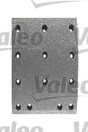 Kit de garnitures de frein (machoires)pour frein à tambour VALEO 219090 (X1)
