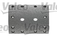 Kit de garnitures de frein (machoires)pour frein à tambour VALEO 219384 (X1)