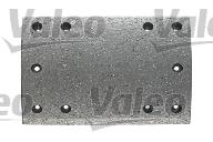 Kit de garnitures de frein (machoires)pour frein à tambour VALEO 219862 (X1)