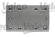 Kit de garnitures de frein (machoires)pour frein à tambour VALEO 219908 (X1)