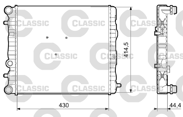 Radiateur de refroidissement VALEO 233062 (X1)