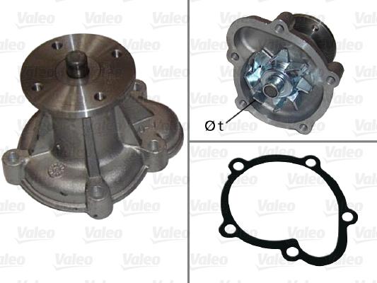 Pompe a eau VALEO 506023 (X1)