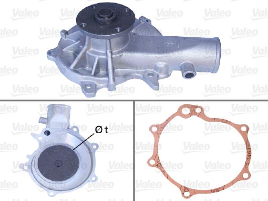 Pompe a eau VALEO 506048 (X1)