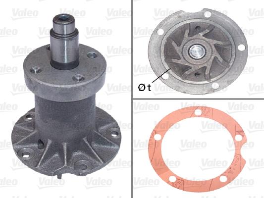 Pompe a eau VALEO 506097 (X1)