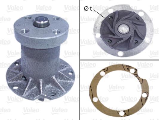 Pompe a eau VALEO 506100 (X1)