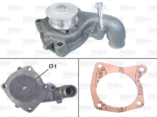 Pompe a eau VALEO 506301 (X1)