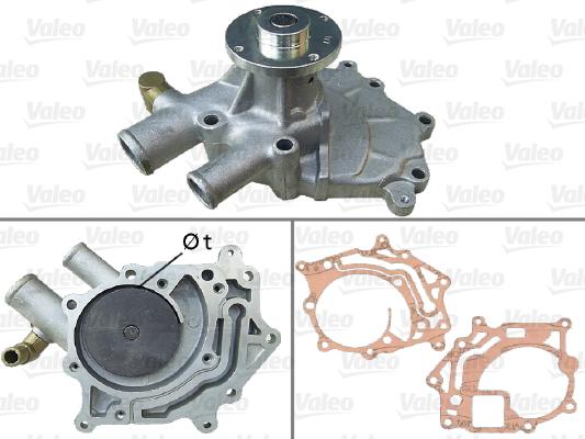 Pompe a eau VALEO 506357 (X1)