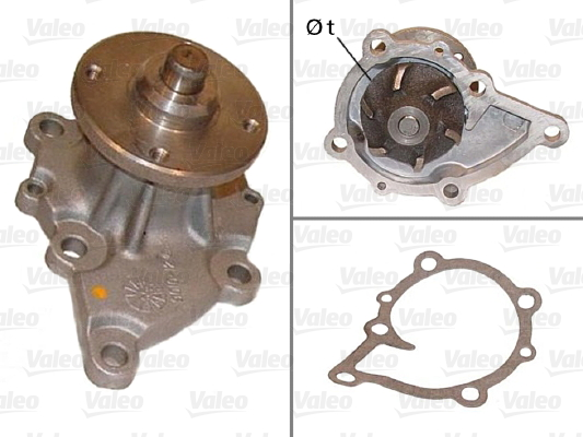 Pompe a eau VALEO 506416 (X1)