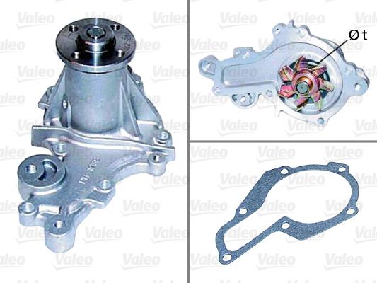 Pompe a eau VALEO 506565 (X1)