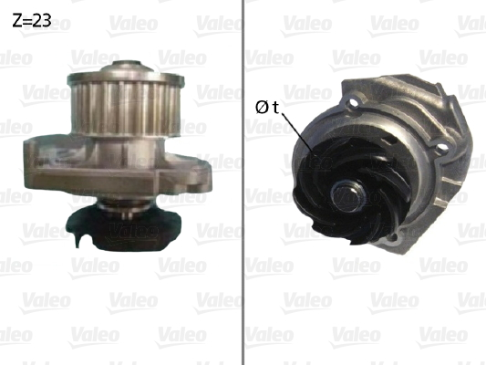 Pompe a eau VALEO 506686 (X1)