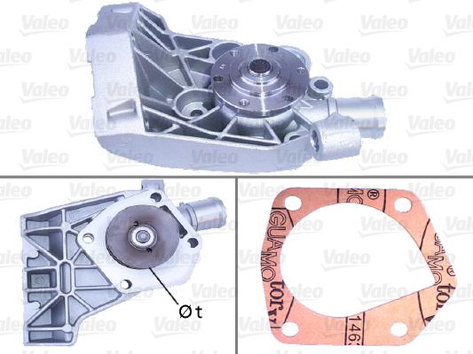 Pompe a eau VALEO 506730 (X1)