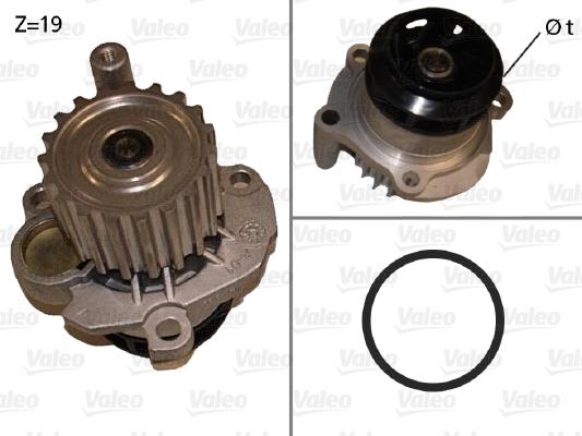 Pompe a eau VALEO 506873 (X1)